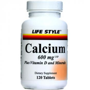 LIFE STYLE Calcium 600 Plus Vitamin D And Minerals
