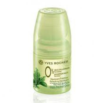 YVES ROCHER green tea FROM china deodorant roll-on