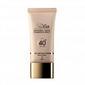 Medisun Cream Foundation For Oily And Irritated Skins 30 ml